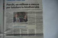 Articolo Gazzetta di Parma del 13 dicembre 2015